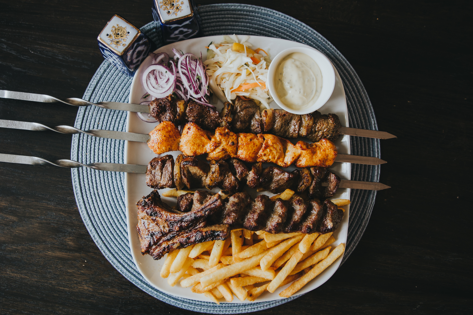 GAMBIT GRILLHOUSE STOCKHOLM GRILL MIX